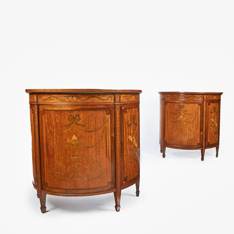 AN EXCEPTIONAL PAIR OF COMMODES BY ALEXANDER MONTEREY - REF No. 4033