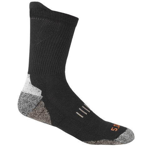 Year Round Crew Sock in Black