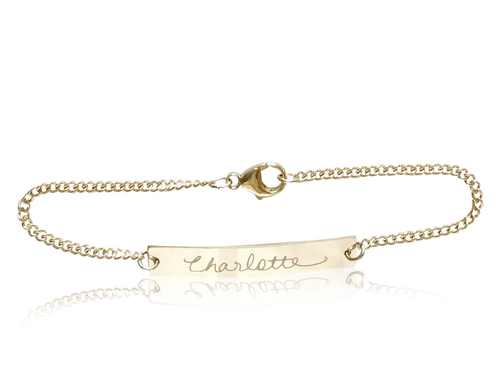 Signature Bar Bracelet - shopbanglejangle