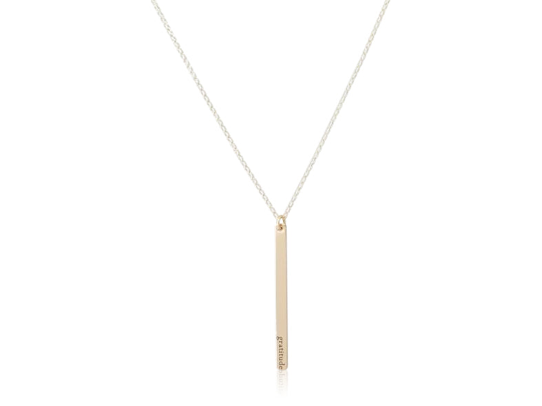 Amelia Necklace-Vertical (customizable)