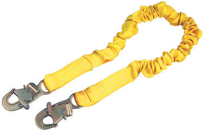DBI/SALA 6' ShockWave2 Shock Absorbing Lanyard With Self Locking Snap Hooks At Both Ends
