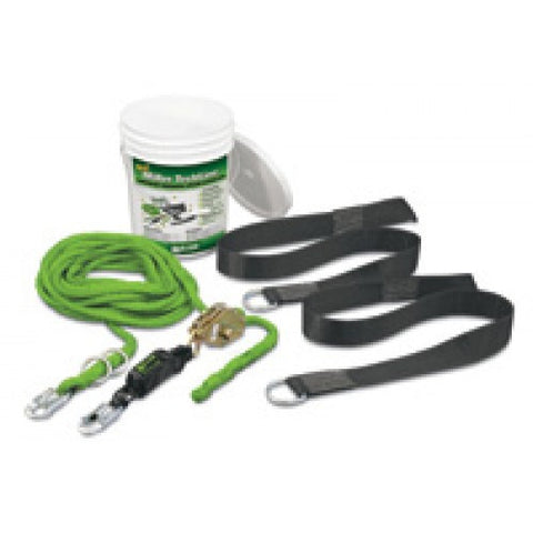 Miller 2 Person 60' TechLine Temporary Horizontal Lifeline System Kit