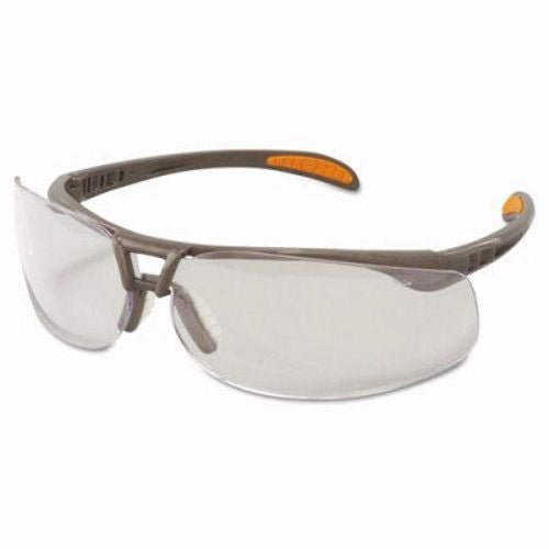 Uvex By Sperian Protege Safety Glasses With Sandstone Frame And Clear Polycarbonate Uvextreme Anti-Fog Lens