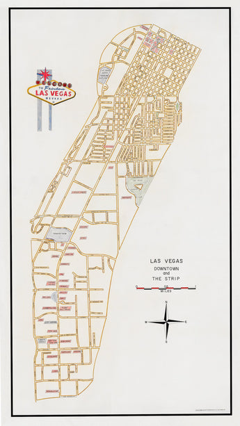 Las Vegas Map Now Available