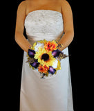 Sunflower Wedding Bouquet Collection
