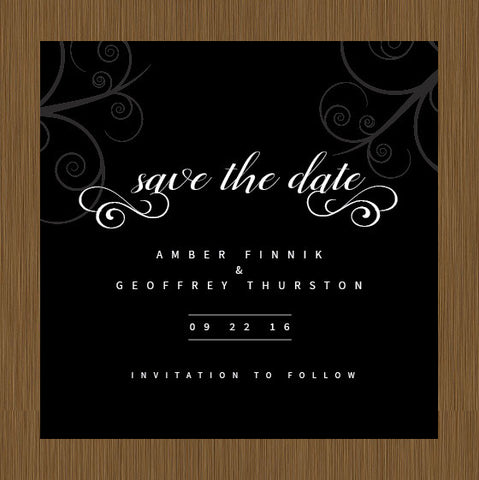 save the date, save the dates, classic save the date, simple save the date, black save the date