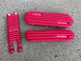 Ribbed Bike Pad Set