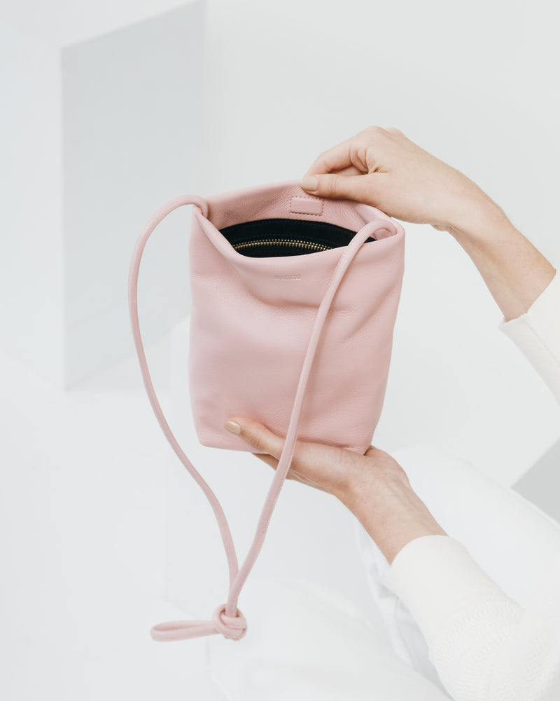 Cross Body Purse - Powder Pink