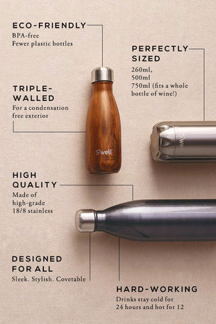 S'Well Teakwood Water Bottle | 750ml image 3 - The Sports Edit