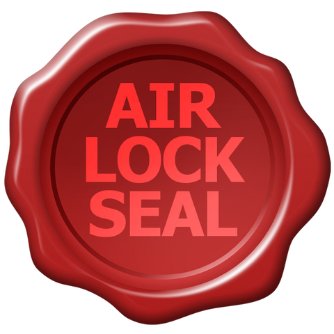 air lock seal fresh silica gel