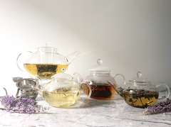 Tea for One Glass Teapot