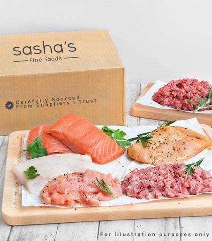 Pocket-Size Meat & Seafood Box