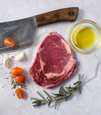 Australian Black Angus Ribeye Steak