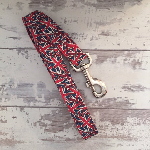 The Black Dog Company Handmade Dog Leads Union Jack - Dog Lead