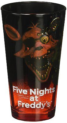 Five Nights At Freddy's (FNaF)  Pint Glass, 16oz Just Funky 1