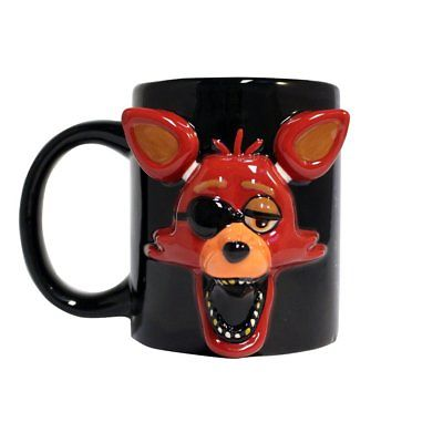 Five Nights at Freddy's Foxy Face Molded Relief Mug Just Funky 1