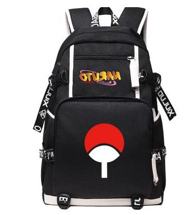 2018 Anime Naruto Canvas USB Charge Backpacks Unisex Naruto Luminous Schoolbag Mochila Escolar Large Rucksack 020801 Shop3630034 Store 1