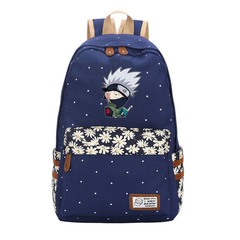 Anime Naruto Itachi Uchiha Sasuke Women Mochila Canvas Backpacks Student School Bags for Teenagers Girls and boys Preppy Style suuman Store 1