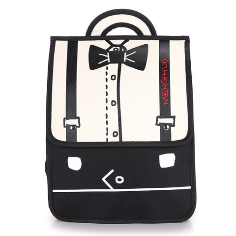 Backpacks For Teenage Girls Women Oxford Fashion Stitching Bow Anime Backpacks School Shoulders Student Bags Casual Bag Book Bag YINGFEILIGE Official Store 1