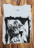 Custom Fanmade Gintama butterfly fly away eye patch T-Shirt Tee Tshirt - Animetee - 1