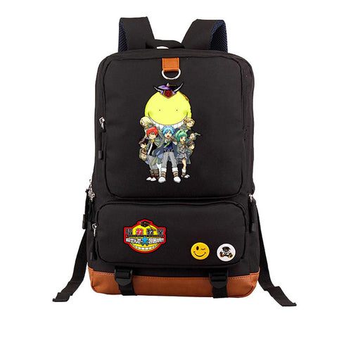 Japan anime Ansatsu Kyoushitsu Korosensei Backpack Schoolbag Teenagers Unisex Student Shoulder Travel Bag Computer package COS BAG MADE Store 1