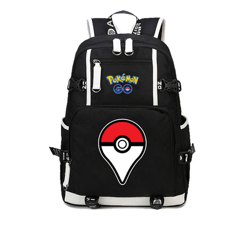 Japan anime Pocket Monster backpack Pikachu cosplay canvas Printed Rucksack Schoolbag Student bookbag men women backpack COS BAG MADE Store 1