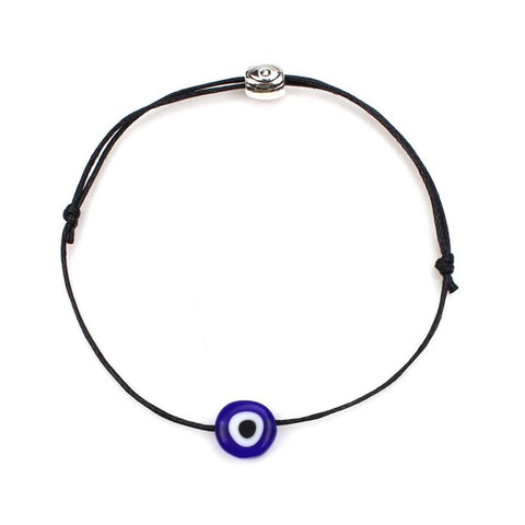 1pcs/lot Simple Stylish a bracelet Red thread Red String & Blue Evil Eye Bracelet Good Luck Bracelet For Women