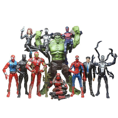Deadpool Dead pool Taco Marvel Avengers Alliance 3 Iron Spiderman,Captain America , Marvel Legends Action Figure Toys Christmas New Year Gift AT_70_6