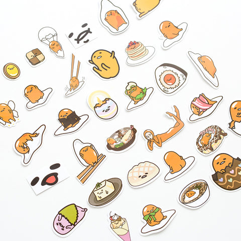 1 Pack Cute Totoro Gudetama Cat Adhesive DIY Sticker Stick Label Notebook Album Trunk Decor Stickers