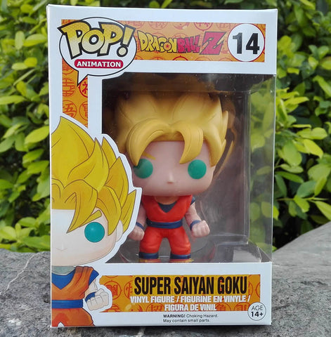2015new Dragon Ball Z Funko POP Super Saiyan Son goku Vegeta Cell Piccolo Frieza PVC Action Figure Model DragonBall Toy Gift dbz - Animetee - 2