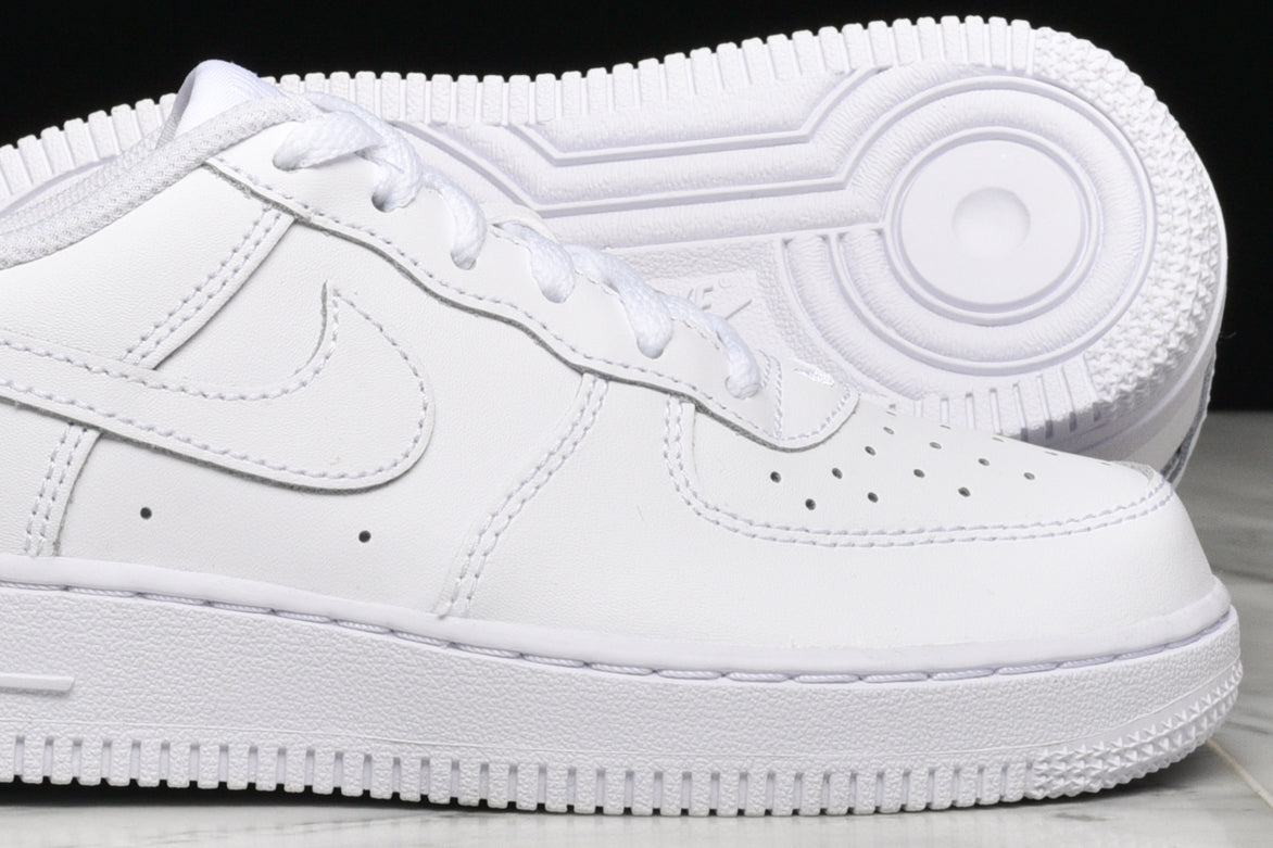 AIR FORCE 1 LOW (GS) - WHITE