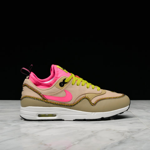 WMNS NIKE AIR MAX 1 ULTRA 2.0 SI - MUSHROOM / BAMBOO / DEADLY PINK