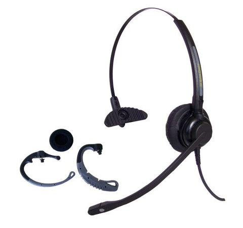 Smith Corona Classic Convertible Headset - 2 styles in one w/direct connect cord