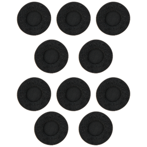 Foam Ear Cushions For Jabra Biz 2300 Headsets - 10 Pack  14101-38 - Headset World USA - Your Headset Solutions