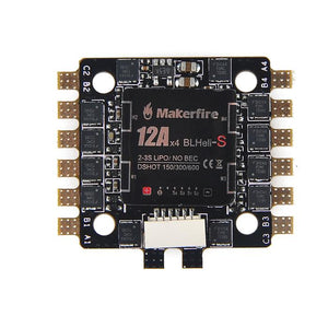 Makerfire BLHeli-S 4-in-1 12A ESC 2-3s
