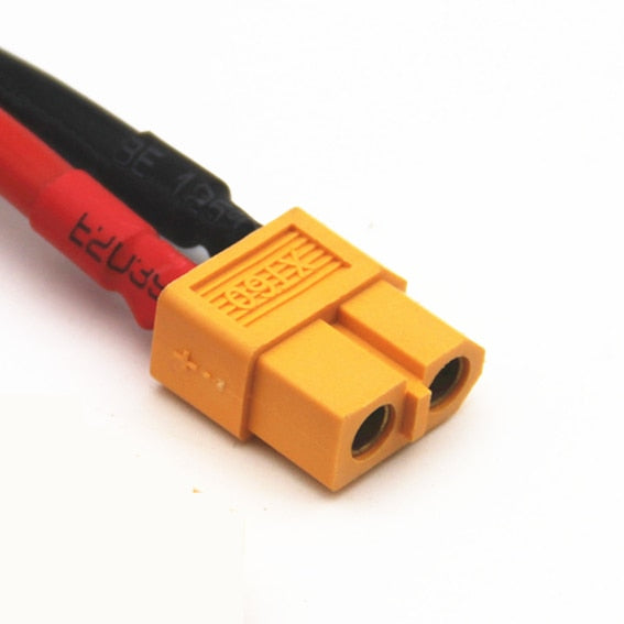 XT60 Female Connector Pigtail with 10cm 12AWG wire