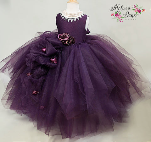 Plum Couture Girls Dress