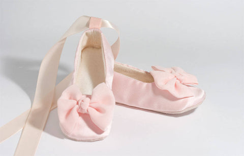 Blush Pink Ballet Girls Slippers Shoes