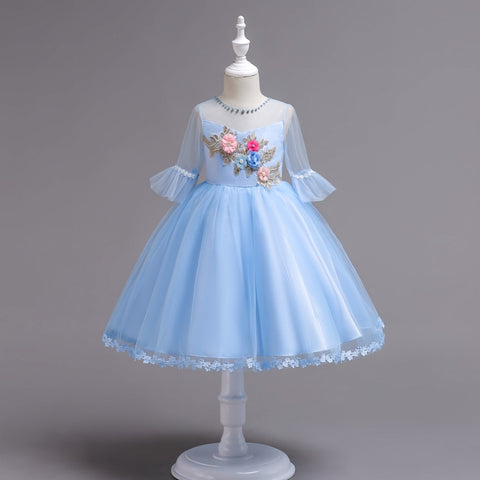 Aqua Lavish Pretty Girl Dress Collection - MelissaJane Designs