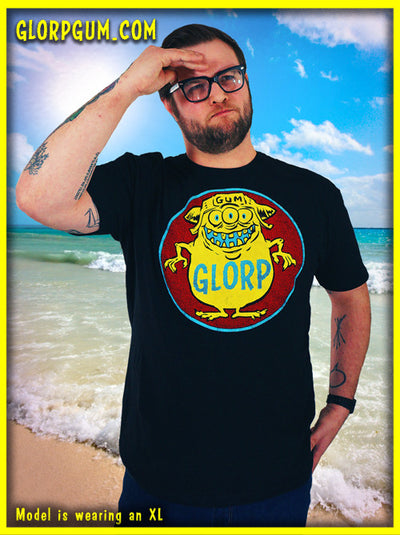 GLORP HEP GUM (with FREE Black Glorp Fink T-shirt!) WH