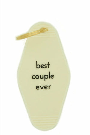 Key Fob Ivory - Best Couple