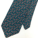 STAFFORD TIE USA TURQUOISE PAISLEY Ancient Madder Silk Men Necktie Ties I6-121