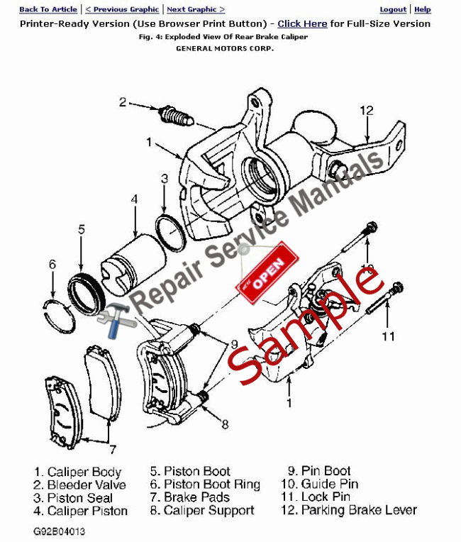 2003 Saturn L200 Repair Manual (Instant Access