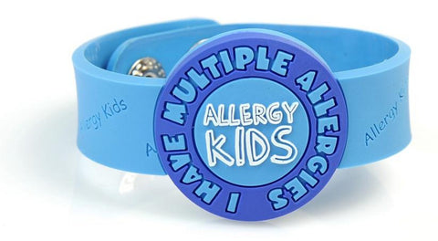 I have Multiple allergies wristband - BLUE