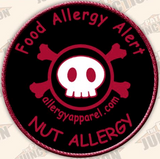 Nut Allergy, Allergy alert patches - allergypunk - 1
