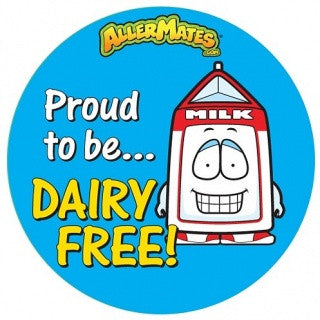 Dairy Free Stickers