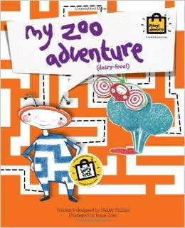 My Zoo Adventure - Dairy free story book