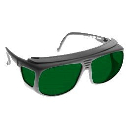 GREEN LENS MIGRAINE RELIEF Eyewear frame 31 BLACK Deep Fit-Over Style SMALL SKU 8216903239