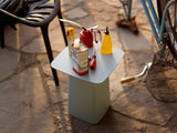 Ice Grey Outdoor Metal Side Table by Vitra