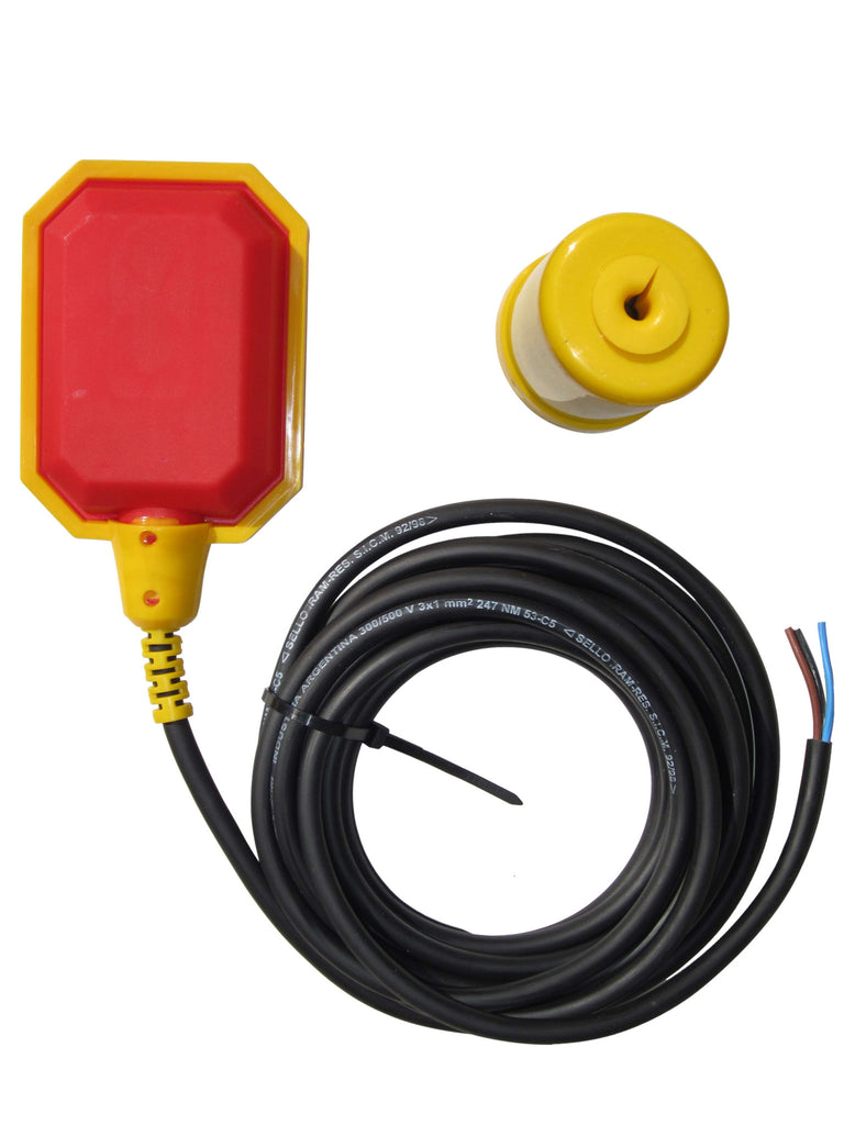 6 Foot 18 2 Piggyback Float Switch Foot Switch Pump